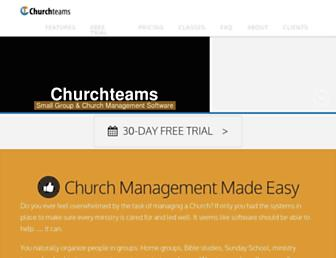 Thumbshot of Churchteams.com