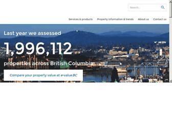Thumbshot of Bcassessment.ca