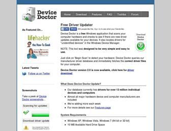 Thumbshot of Devicedoctor.com