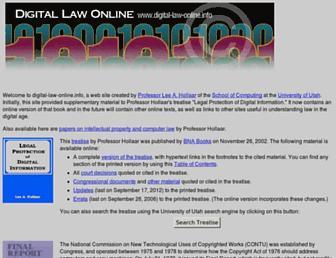 digital-law-online.info screenshot