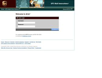 Thumbshot of Ups-mi.net