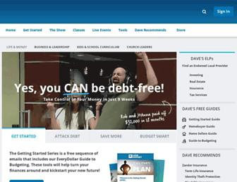 Thumbshot of Daveramsey.com