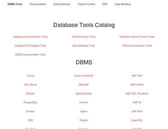 dbmstools.com screenshot