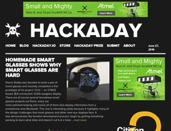 Thumbshot of Hackaday.com