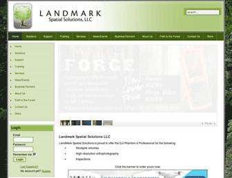 landmarkspatialsolutions.com screenshot