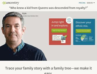 Thumbshot of Ancestry.com