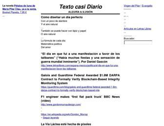 Main page screenshot of gistain.net