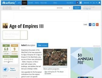 age-of-empires-iii-the-warchiefs.en.softonic.com screenshot