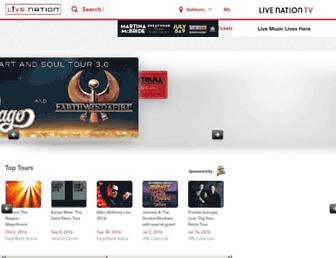 Thumbshot of Livenation.com