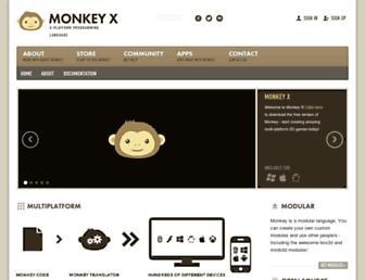 monkey-x.com screenshot