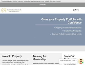 propertyinvestmentsuk.co.uk screenshot