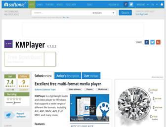 kmplayer.en.softonic.com screenshot
