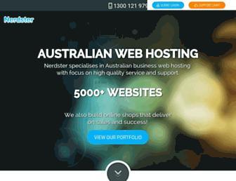 nerdster.com.au screenshot