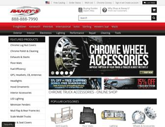 raneystruckparts.com screenshot