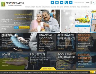 Thumbshot of Way2wealth.com