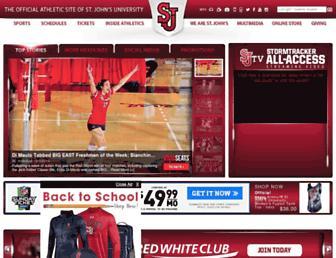 redstormsports.com screenshot