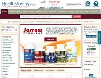 Thumbshot of Healthmonthly.co.uk