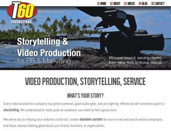 t60productions.com screenshot