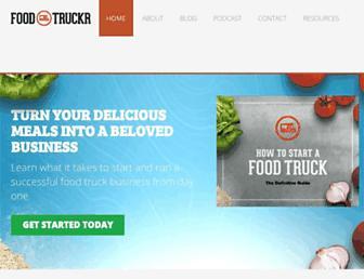 Thumbshot of Foodtruckr.com