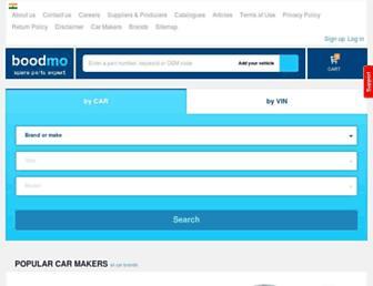 boodmo.com screenshot