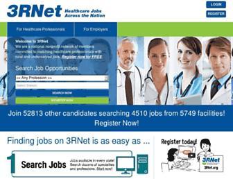 Main page screenshot of 3rnet.org