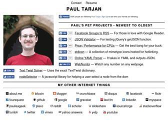 paulisageek.com screenshot