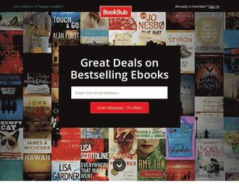 Thumbshot of Bookbub.com