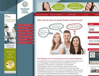 wegweiser-duales-studium.de screenshot