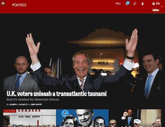 Thumbshot of Politico.com