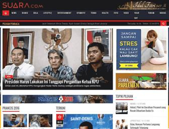 suara.com screenshot