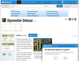 dynomite-deluxe.en.softonic.com screenshot