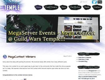 Thumbshot of Guildwarstemple.com