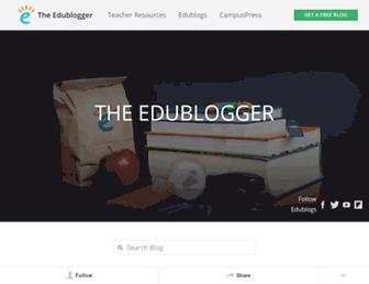 theedublogger.com screenshot