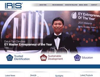 iris.com.my screenshot