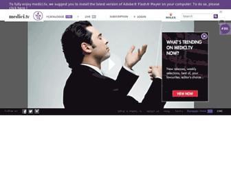 Thumbshot of Medici.tv