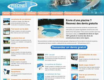 information-piscine.com screenshot