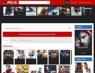dpelis.net screenshot