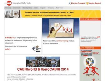 cabri.com screenshot