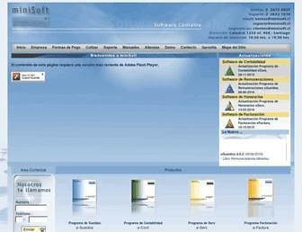 minisoft.cl screenshot