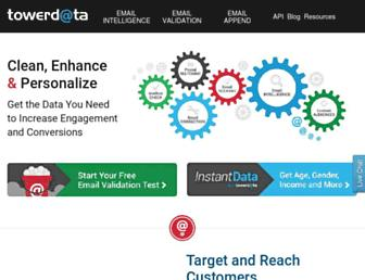 towerdata.com screenshot
