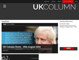 Thumbshot of Ukcolumn.org
