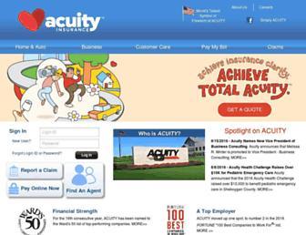 acuity.com screenshot