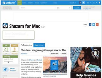 shazam.en.softonic.com screenshot