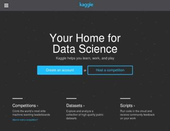 kaggle.com screenshot
