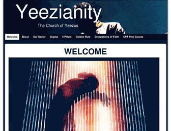 Thumbshot of Yeezianity.com