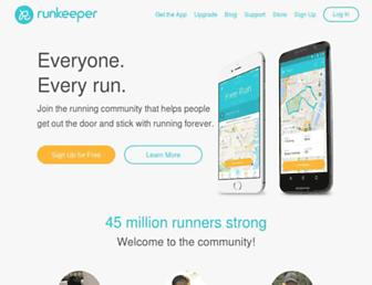 Thumbshot of Runkeeper.com