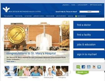 bonsecours.com screenshot