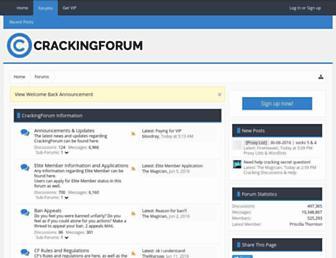 Thumbshot of Crackingforum.com
