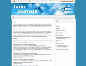 iariajournals.org screenshot