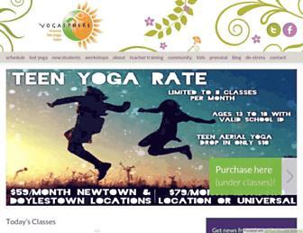 yogasphere.net screenshot